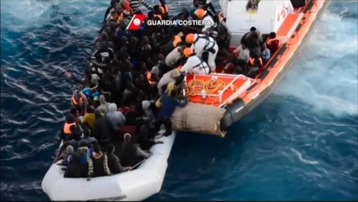 Włoskie służby uratowały na morzu 3 tys. migrantów