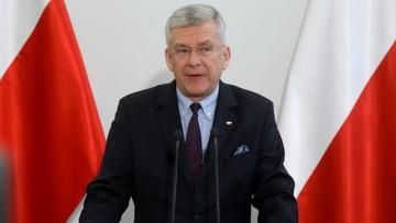 """21-12-2017 12:26 """"Jeżeli Polska była prymusem w UE, to teraz jest liderem"""". Marszałek Senatu o decyzji KE"""