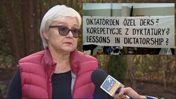 Protestowała przeciw wizycie Erdogana w Polsce. Twierdzi, że zaatakowali ją tureccy funkcjonariusze