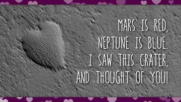 13-02-2016 12:09 Walentynka prosto z Marsa. Wyślij ją ukochanej osobie na Ziemi