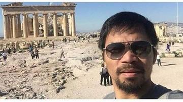 2015-11-11 Pobożny Pacquiao zachwyca się Grecją