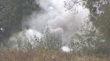 Wybuch bomby w autobusie. Eksperyment ws. eksplozji we Wrocławiu