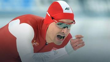 2015-11-21 PŚ w łyżwiarstwie szybkim - Szymański dziewiąty na 1500 m