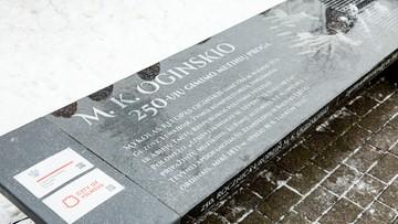 """04-08-2016 18:14 Na ławeczce Ogińskiego w Wilnie zamalowano polskie symbole. """"To akt ksenofobiczny"""""""
