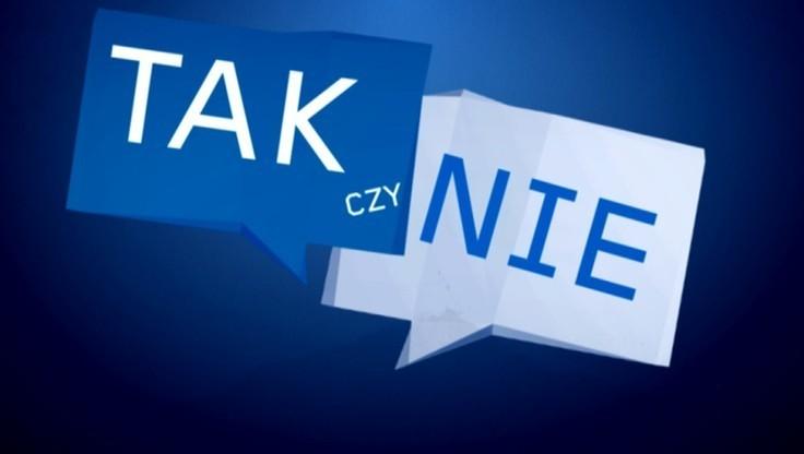 """Czy możliwe jest zakończenie sporu o TK bez pomocy Unii Europejskiej? - sonda programu """"Tak czy Nie"""""""