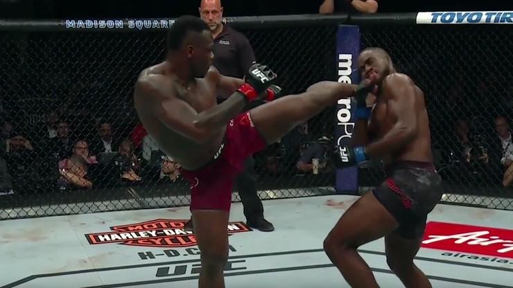 UFC 217: Niedoszły rywal znokautował pogromcę Błachowicza! (WIDEO)
