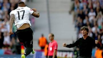 Niemcy - Słowacja: Pierwszy gol Boatenga w kadrze!