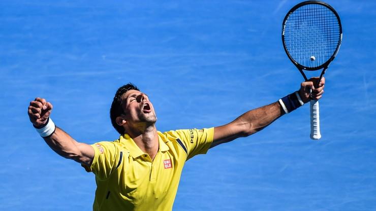 Pięciosetowa zwycięska przeprawa Djokovica w 1/8 finału Australian Open
