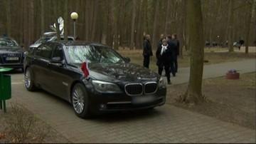 31-03-2016 17:02 Przyczyną wypadku prezydenckiej limuzyny najechanie na leżący na jezdni przedmiot