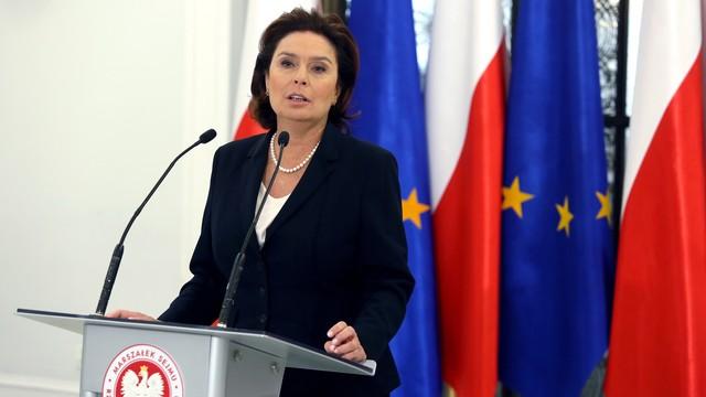 Kidawa-Błońska: nie było większości, by odrzucić weto prezydenta