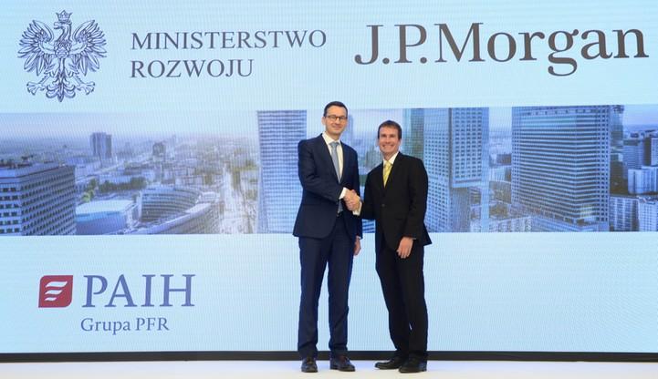 """JP Morgan w Polsce. """"Widzimy silny kapitał ludzki, przygotowany do wyzwań przyszłości"""""""