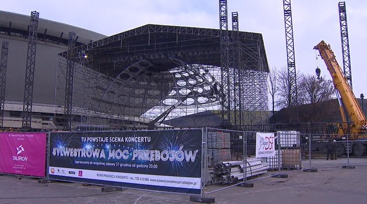Prezydent Katowic o Sylwestrowej Mocy Przebojów: to będzie kolejna wizytówka naszego miasta