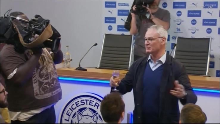 Mistrzowskie powitanie Ranieriego