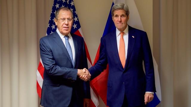 Ławrow i Kerry rozmawiali o sytuacji w Syrii