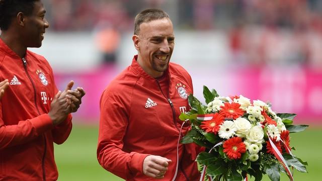 Wygrana Bayernu po niesamowitym golu Ribery'ego