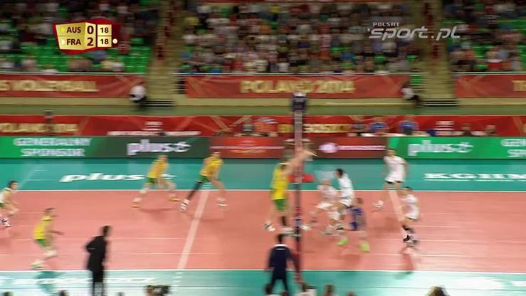 Australia - Francja 1:3. Skrót meczu