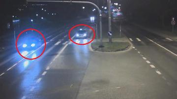 Kierował pod wpływem, przejechał na czerwonym świetle. Tuż obok radiowozu