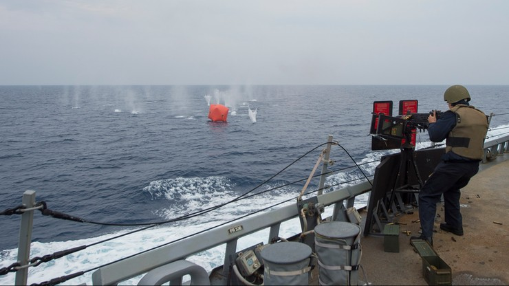 Incydent między okrętami USA i Iranu w Zatoce Perskiej