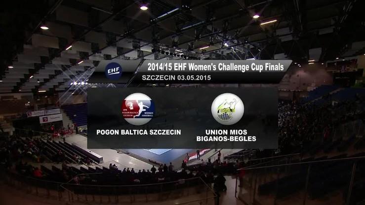 Pogoń Baltica - Union Mios 20:21. Skrót meczu