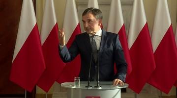 Ziobro: decyzję o zwolnieniu trzech wiceprezes sądu podjął wiceminister Piebiak