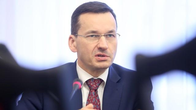 Morawiecki: 500 zł na dzieci, które są w Polsce