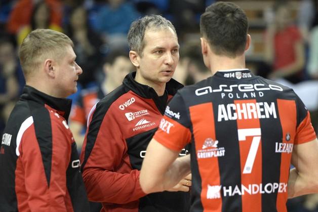 Trener Asseco Resovii: emocje będą do końca