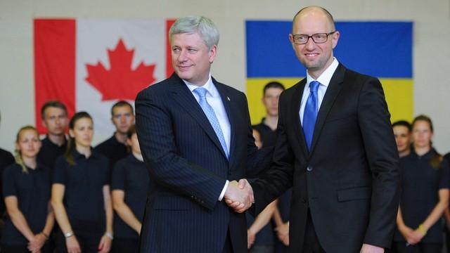 Ukraina wzmacnia współpracę wojskową z Kanadą