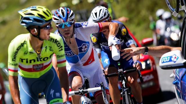 Tour de France - Majka trzeci na etapie, ale stracił koszulkę