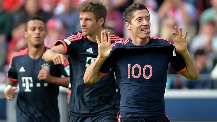 Setka Lewandowskiego! Dwie bramki w meczu z Mainz!