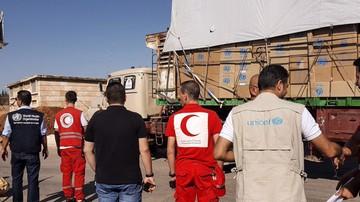20-09-2016 05:09 Atak na konwój ONZ w pobliżu Aleppo. Zginęli wolontariusze Czerwonego Krzyża