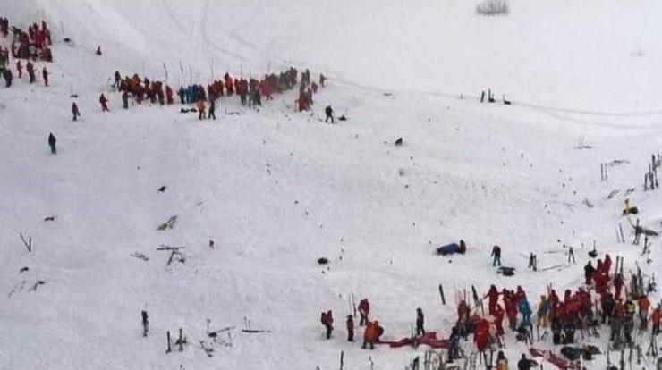 Lawina we francuskich Alpach. Co najmniej trzy osoby nie żyją