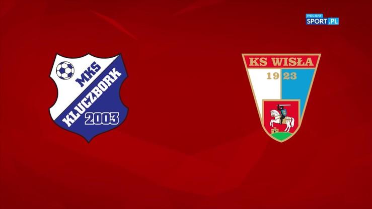 MKS Kluczbork - Wisła Puławy 2:2. Skrót meczu