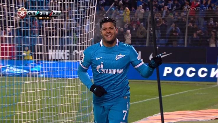 Zenit St. Petersburg - Rubin Kazań 4:2. Skrót meczu