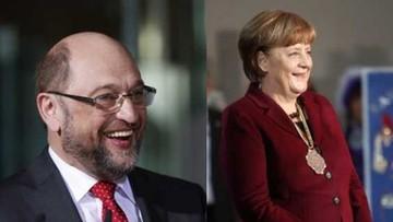 26-01-2017 10:15 Sondaż: Schulz bardziej wiarygodny niż Merkel