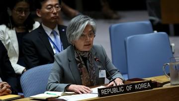 26-09-2017 05:21 Szefowa MSZ Korei Płd.: USA powinny unikać eskalacji napięcia z Pjongjangiem