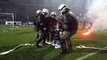 2016-11-11 W Grecji zawieszono rozgrywki. Powodem atak na szefa sędziów