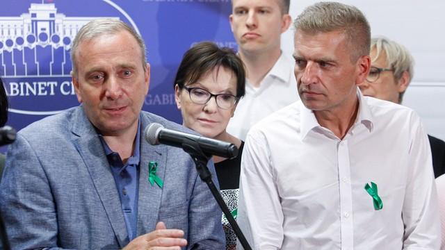 Schetyna o obchodach miesięcznicy smoleńskiej: PiS boi się Polaków