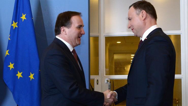 """""""Wszystkie instytucje powinny działać w granicach prawa"""". Prezydent Duda odpowiada szwedzkiemu premierowi"""