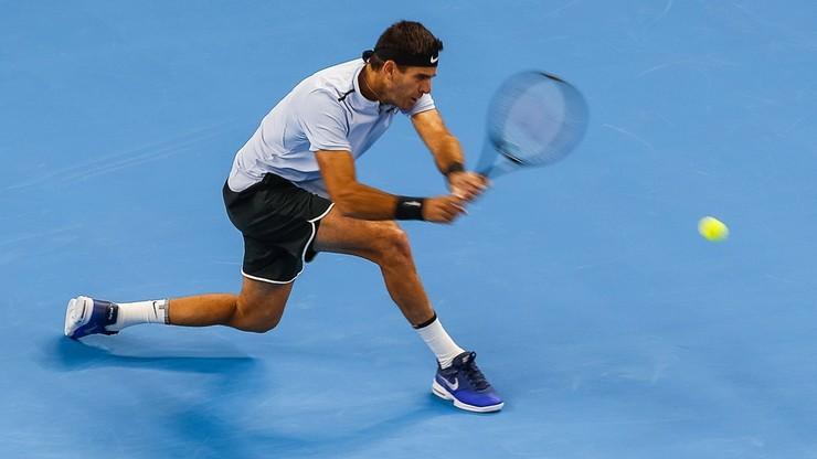 ATP w Auckland: Del Potro ponownie w TOP10, Argentyńczyk w półfinale