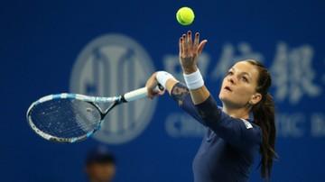 2015-10-16 WTA w Tiencinie: Agnieszka Radwańska awansowała do półfinału