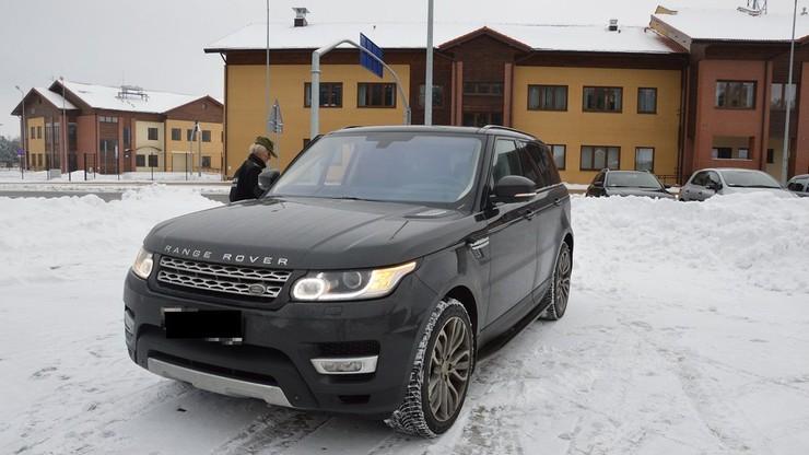 Złodzieje zmienili kierunek. Polska Straż Graniczna odzyskała luksusowe auto ukradzione w Rosji
