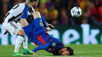 2017-04-19 Nic dwa razy się nie zdarza. Bez bramek na Camp Nou, awans Juventusu