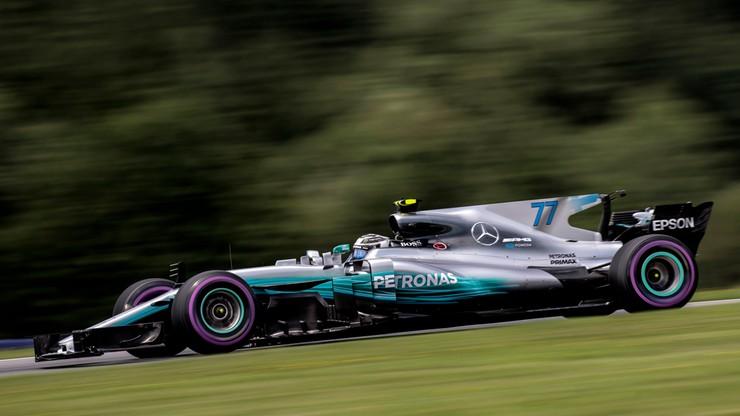 GP Austrii: Bottas wygrał kwalifkacje przed wyścigiem Formuły 1