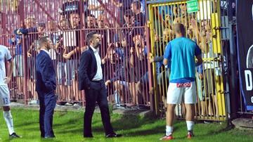 2017-08-10 Zawrzało po meczu Pogoni z Lechem! Bjelica wdał się w kłótnię z kibicami