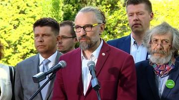 """05-05-2016 12:52 Kijowski: zawiązaliśmy koalicję """"Wolność, Równość, Demokracja"""""""