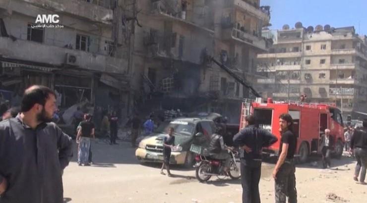 19 cywilów zginęło w ostrzale artyleryjskim Aleppo