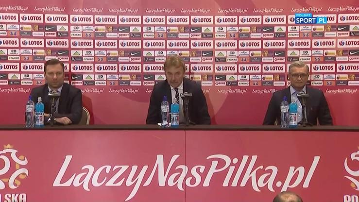 Konferencja reprezentacji Polski po awansie na mistrzostwa świata