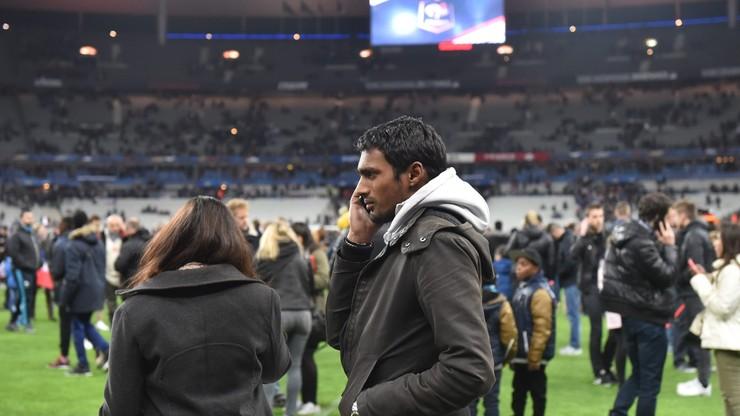 """Niemieccy piłkarze wciąż są na Stade de France. """"Jesteśmy w szoku"""""""