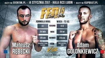 2016-12-21 FEN 15: Rębecki - Golonkiewicz w Lubinie