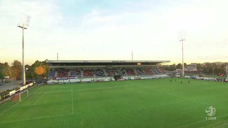 2015-10-02 Dolcan Ząbki - Chrobry Głogów 1:1. Skrót meczu